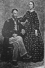 A.L. Ewing with wife Mary