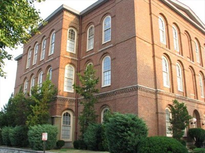 Hospital #8 in Louisville, later known as Monsarrat School.