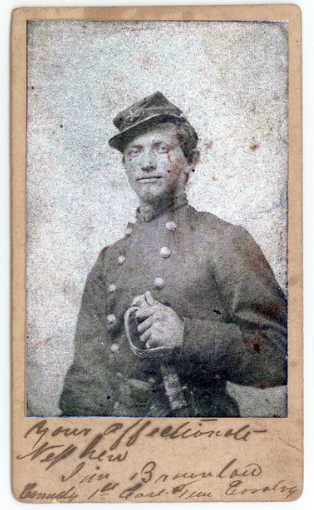 Brig. Gen. James P. Brownlow, 1st East TN Cav