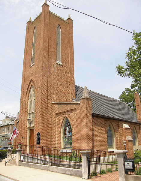 St. Paul's Episcopal Church, downtown Franklin