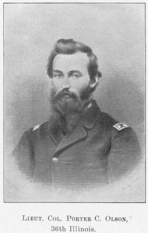 Lieutenant-Colonel Porter C. Olson, 36th Illinois Infantry